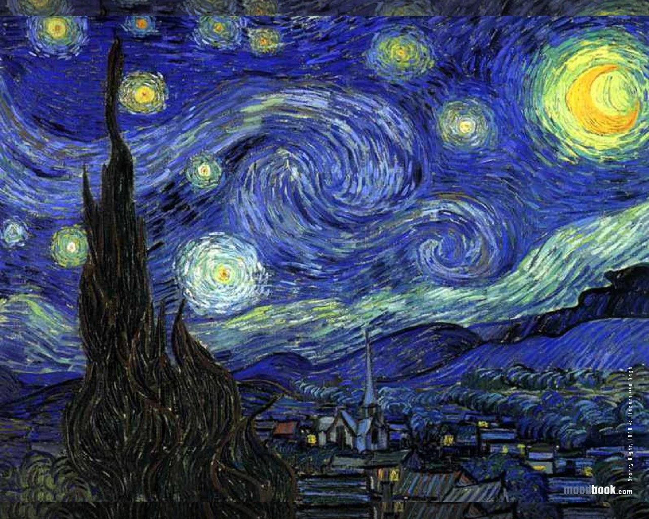 starry wallpaper. vincent-van-gogh-wallpaper-starry-night